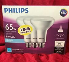 Philips LED Indoor Flood Light 8 Watt Daylight 3 Pack