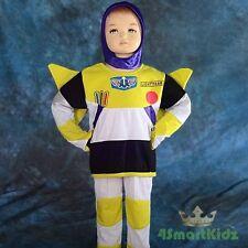 Buzz Lightyear Hero Kid Boy Fancy Party Costume Size 5