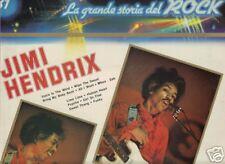 Jimi Hendrix La grande storia del Rock IMPORT LP Italy