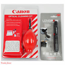 Red 7 in 1 Professional Cleaning Kit Set+Genuine Lens Pen For Canon EOS M 1DX