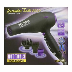 Hot Tools Tourmaline Ionic 1875 Watt Professional Dryer Model No. 1043