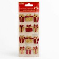 Hand Crafted Christmas Presents Embellishment - 12 Pack Self Adhesive Xmas XM012