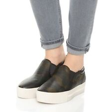 Ash Karma Camo Leather Platform Sneakers Size 37 US 7