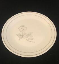 Corning Corelle Silver Rose Dinner Plate