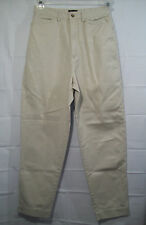 GAP womens/juniors light beige narrow leg khaki ankle crop pants size 11/12