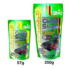 Hikari Cichild Staple Floating Fish Food Standard Formula Protein Tropical Pets