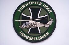 Original German Militäry Weapon system  Patch  Eurocopter Heeresflieger ca 10 cm