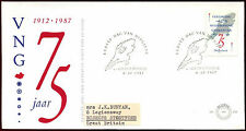 Netherlands 1987 Municipalities Union FDC First Day Cover #C40300