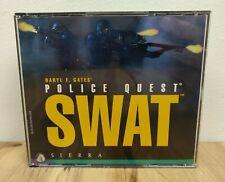 Police Quest Swat PC Game 4 CD Sierra 1995