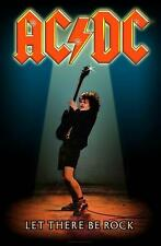 """AC/DC FLAGGE / FAHNE """"LET THERE BE ROCK"""" POSTERFLAG"""