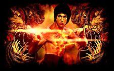 Bruce Lee Poster Length: 800 mm Height: 500 mm SKU: 3121