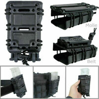 Tactical Pistol Mag Magazine Pouch Carrier 45ACP 5.56 7.62 9MM For Molle/Belt#YE