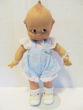 """Vintage Jesco Cameo 11"""" Jointed Kewpie Doll 1987 Mint w Gold Heart Tag & Stand"""