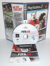 FIFA FOOTBALL 2008 08 8 - Playstation 2 Ps2 Play Station Gioco Game Sony