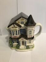Vintage Otagiri Victorian House Teapot * Made in Japan