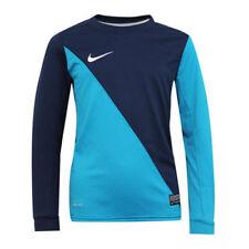 Magliette, maglie e camicie blu Nike a manica lunga per bambini dai 2 ai 16 anni