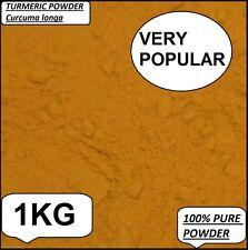 1kg Turmeric Curcumin Powder Tumeric Spice Curcuma longa Anti Inflammatory A+++