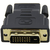DVI-D Male To HDMI Female Adapter Connector 24+1 25 Pin Gold Plated For HDTV DVD