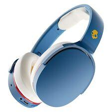 Skullcandy Wireless Over Ear Headphone 36 Hours Battery Blue for Valentine Gift