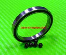 [QTY 10] (12x18x4 mm) 6701-2RS HYBRID CERAMIC Si3N4 Ball Bearing Bearings 6701RS