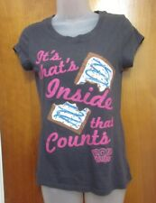 POP TARTS size 7-9 sexy tee Kelloggs juniors med T shirt toasted pastries Inside