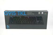 Logitech - G915 TKL Tenkeyless LIGHTSPEED Wireless RGB Keyboard - GL Tactile