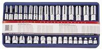 "Genius Tools 32PC 3/8"" Dr. Metric Hand Socket Set-Lifetime Warranty"
