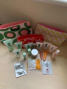 3 Clinique Make Up Bags & Miniatures