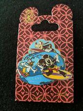 Disney Aulani Hawaii Mickey Mouse Donald Duck Goofy Surfing Wave Pin
