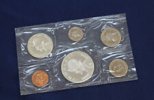 1967 Panama 6 Coin Proof Set with 1/2 & 1 Silver Balboas Original Package E2162