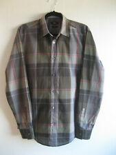 HUGO BOSS | Men's Boss PLAID Check SLIM FIT Lightweight LS Shirt | M