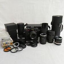 Vintage Konica Autoreflex T4 Film Camera