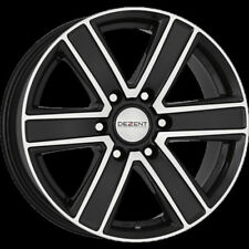 Dezent Polished Rims with 6 Studs