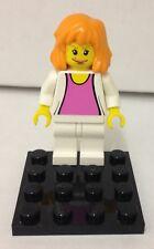Lego Mary Jane Watson minifigure - vintage Spider-man 4852 white outfit