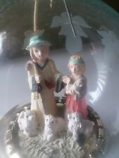 House Of Lloyd ~ Christmas Around the World ~ Shepherd Ornament w Stand ~ 1995