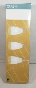 Eglo Lighting-20598A-Crash - 3-Light Kitchen Island Pendant - Matte Nickel