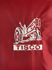 Vintage Rare Tisco Jacket Tractor Implement Supply Agriculture Farm