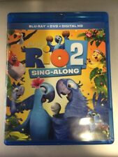 Rio 2 Sing-Along~Blu-Ray + Dvd + Digital HD~Movie Plus Sing Along