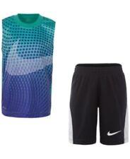 New Nike Little Boys 2-Pc. Printed Muscle Tank & Shorts Set Size 6