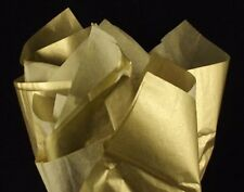 24 sheets Gold Metallic~GLOSSY~HEAVY GAUGE GIFT TISSUE PAPER 20X30