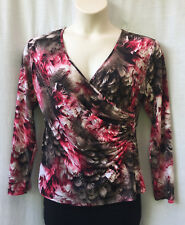 Liz Jordan Size 16 XL Top NEW Long Slv Work Casual Evening Occasion Party Travel
