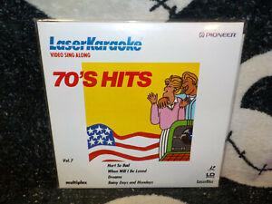 Laser Karaoke 70s Hits Vol 7 NEW SEALED Laserdisc LD Fleetwood Mac Free Ship $30