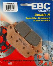 EBC BRAKE PADS Fits: Honda VFR1200F,VFR800F Interceptor,VFR800FD Interceptor DLX