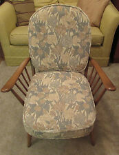 Ercol Floral Armchairs