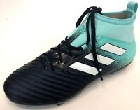 NEW Adidas Mens Ace 17.2 FG Aqua Navy Blue White Football Soccer Cleats Size 8