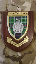 Kings Own Scottish Borderers Personalised Military Wall Plaque UK Made for MOD