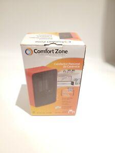 Comfort Zone CZ410RD Personal Desk Top Ceramic Heater - Red
