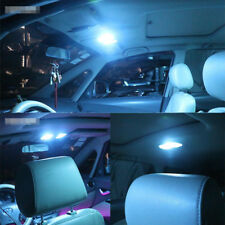 42mm Ice Blue Car COB Interior Festoon LED Dome Roof Door Light Bulb BRIGHT!