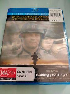 SAVING PRIVATE RYAN 2-DISC SPECIAL EDITION BLU-RAY (NEW&SEALED) TOM HANKS, DAMON