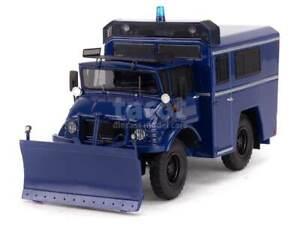 Mercedes Unimog 406 Police 2008 - Perfex 1/43